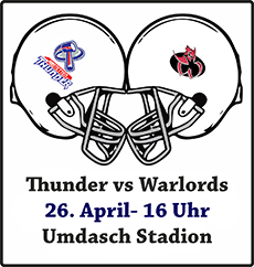 Thunder vs Warlords