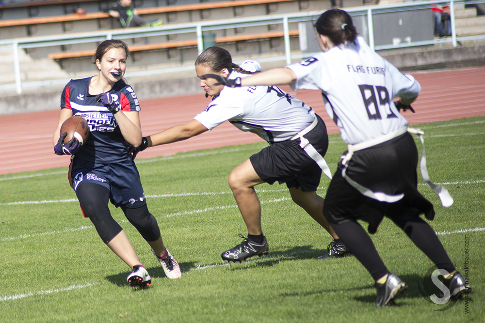 Thunder Ladies vs. Flag Furies