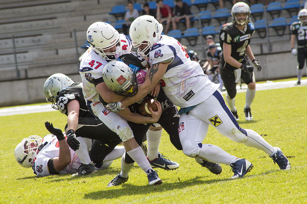 Amstetten Thunder at Swarco Raider JV