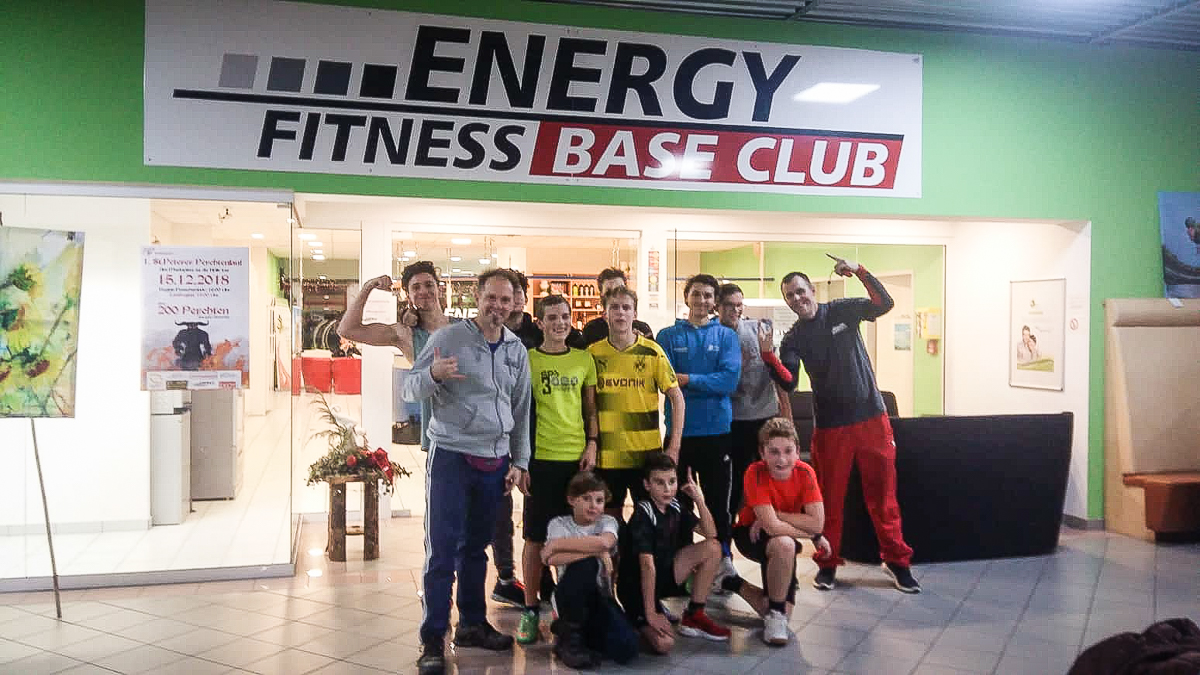 Juniors im Energy Fitness